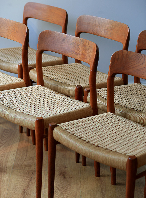 Niels O Moller   Dining Chairs   Three Magdalen Streetthree Magdalen Street